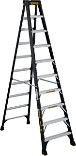 DeWalt DXL3010-10 Fiberglass Stepladder, 10-Feet, Yellow