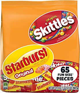 Skittles Christmas Candy Fun Size Bag Variety Mix