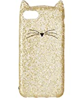 Kate Spade New York Glitter Cat Phone Case for iPhone® 7