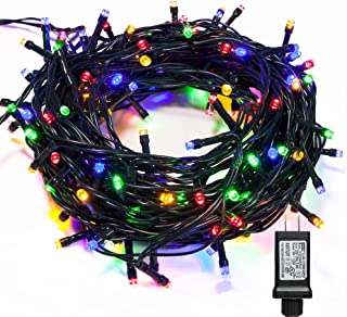 WISD Fairy String Lights 1000 LED 338ft with 8 Effects and Memory Function, LED Christmas Lights Waterproof Plug in for Indoor Outdoor Christmas Tree Home Garden Wedding Party Decoration, Multicolor