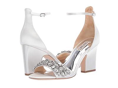 Badgley Mischka Laraine (Soft White Satin) High Heels