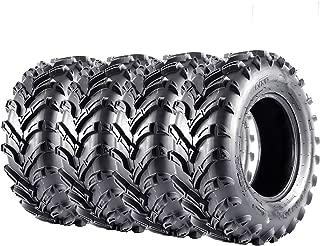 VANACC ATV Tires 25x8x12 25x10x12 Complete Set of 4 25x8-12 25x10-12 6PR UTV Tire