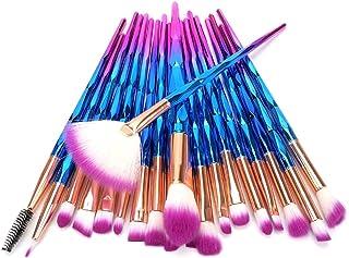 Sunwe Makeup brush set 20 advanced synthetic makeup brush set professional contour concealer...