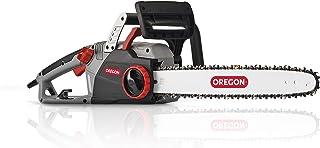Oregon CS1500 - Motosierra Eléctrica 2400 W (retroceso suave, motosierra potente y silenciosa, con cable y sistema de afil...