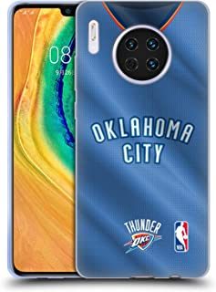 Official NBA Road Jersey 2018/19 Oklahoma City Thunder Soft Gel Case Compatible for Huawei Mate 30