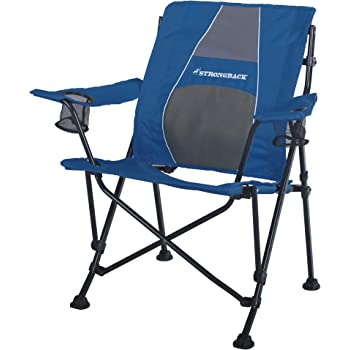 STRONGBACK Guru Folding Camp Chair with Lumbar Support