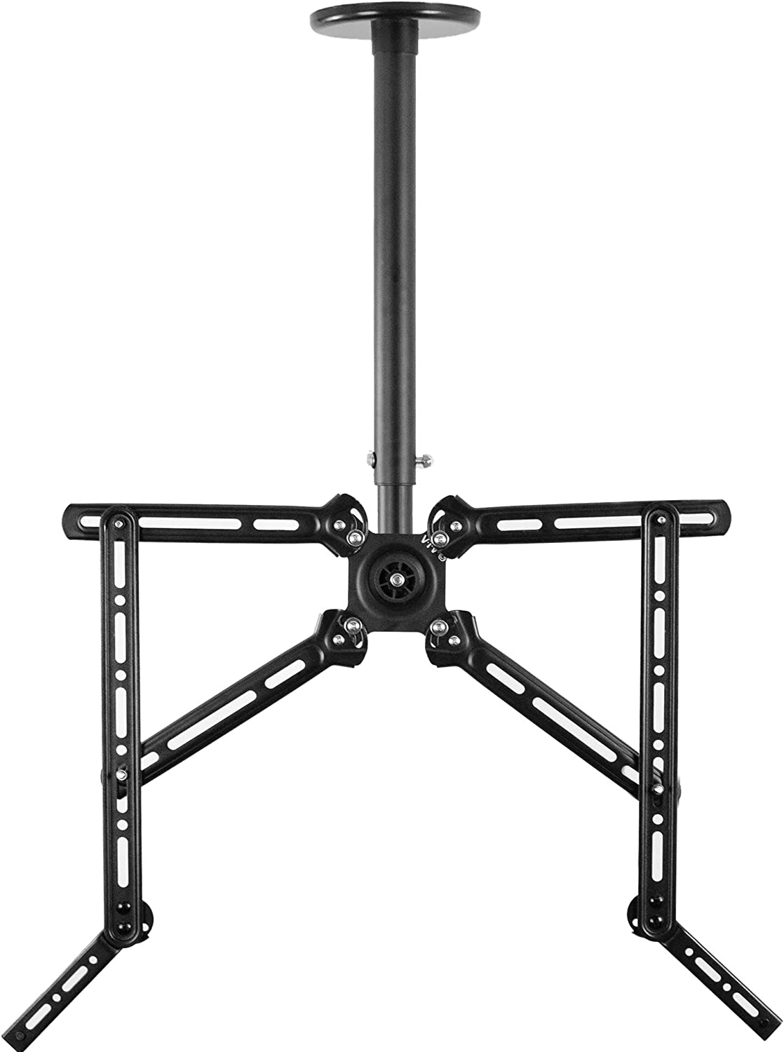 VIVO Manual Flat Ceiling Reservation Gifts TV Mount for with 55 to 23 inch Screens