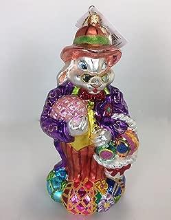 Christopher Radko Dapper Hare Easter Ornament 2000, 00-086-0, Purple Coat 9