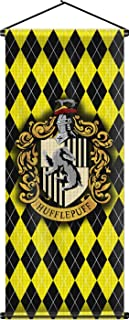 Nordic Souvenirs Harry Potter Style Banner - Hufflepuff Flag 43in x 16in Wall Scroll - Ready to Hang - Perfect Barware Man Cave Gift - Unique HP Collectible Accessories