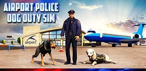 『Airport Police Dog Duty Sim』のトップ画像