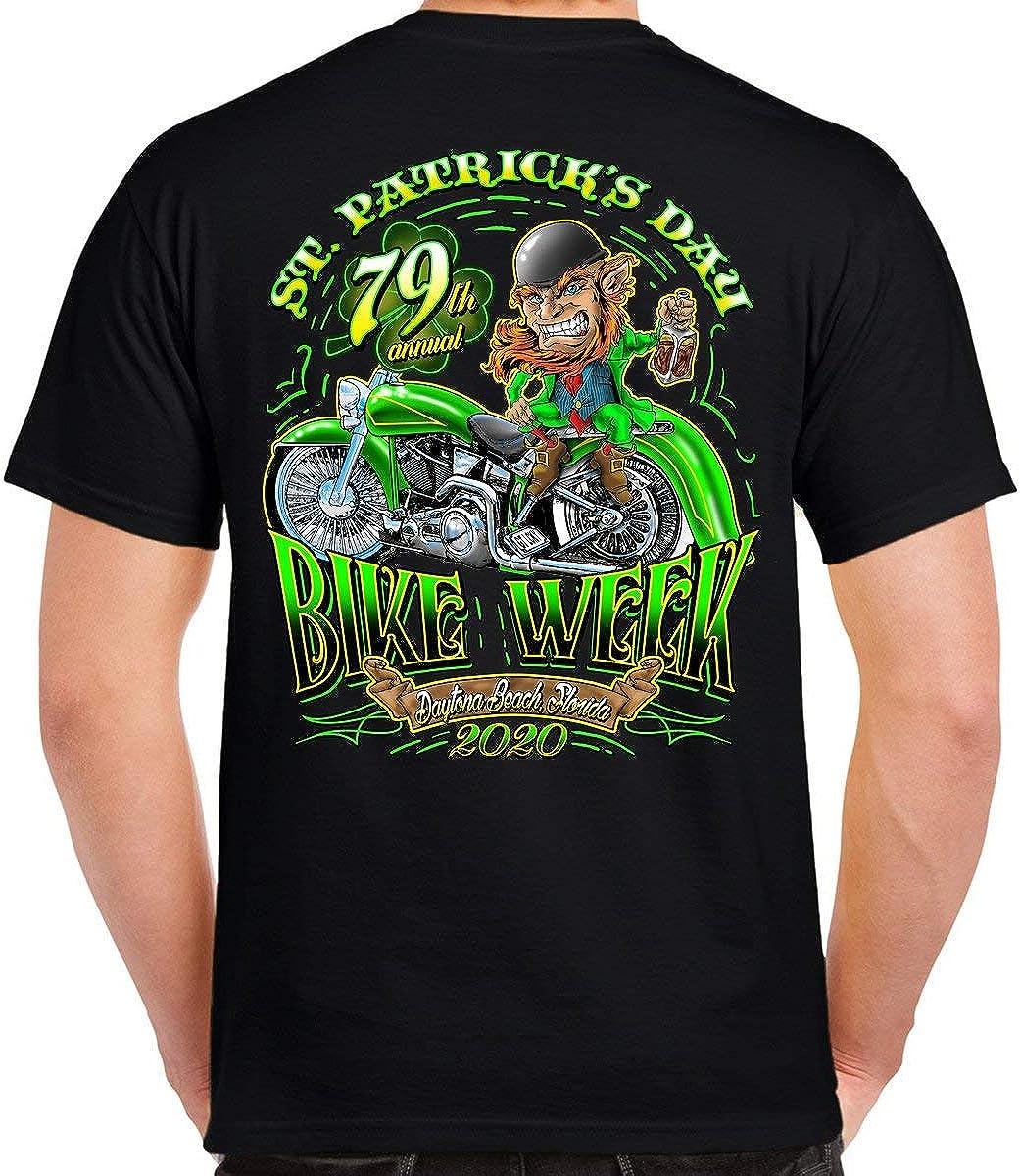 2020 Bike Week Daytona Beach St. Pattys T-Shirt