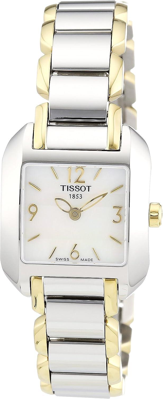 Tissot Women's T02228582 T-Wave Watch Bracelet Max Max 40% OFF 78% OFF Two-Tone