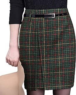 DISSA FS7967 Women Winter Plus Size Mini Bodycon Pencil Club Skirt