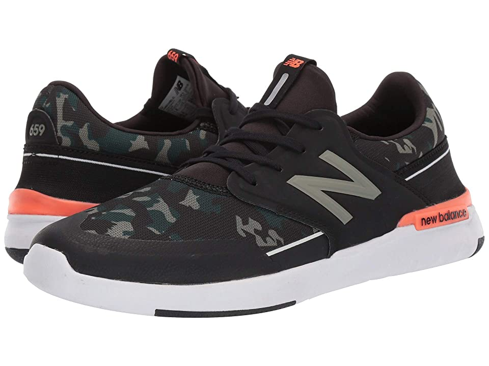 New Balance Numeric AM659 (Black/Camo) Men's Skate Shoes