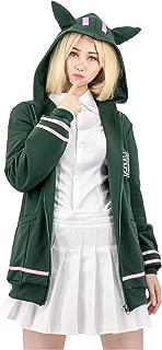 DAZCOS US Size Adult Anime Chiaki Nanami Cosplay Hoodie