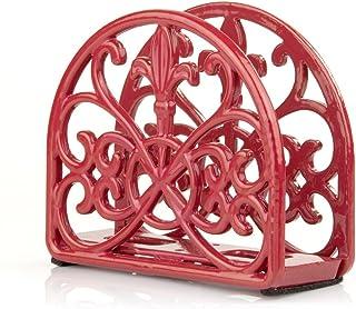 Home Basics Cast Iron Paper Napkin Holder/Freestanding Tissue Dispenser for Kitchen..