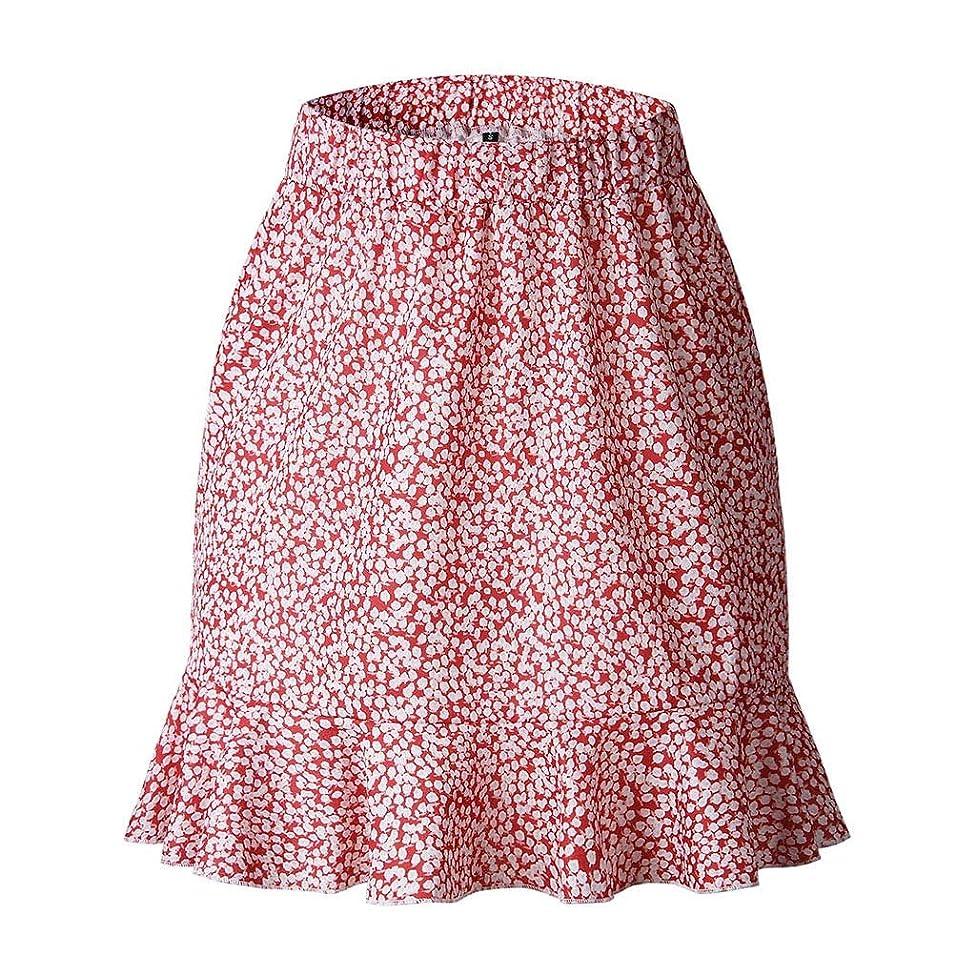 SMALLE_Pants Short Skirt for Women,SMALLE??? Women's Flared Short Skirt Summer Boho Floral A Line Mini Skater Skirt