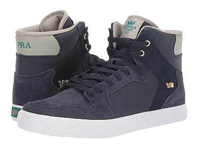 Supra Vaider (Navy/Stone/White) Skate Shoes