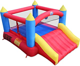 small bouncy castle with slide