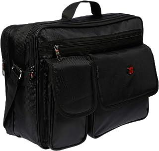 Christian Wippermann XXL Umhängetasche Flugbegleiter Tasche Messenger Arbeitstasche Laptoptasche