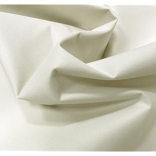 b772e9e10 A-Express Cream 23oz Heavy Duty Thick Waterproof Canvas Fabric 600D Outdoor  Cover 2x Meters