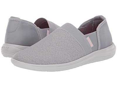 Crocs Reviva Slip-On (Light Grey/Pearl White) Women