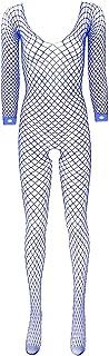 KKmeter Women Ladies's Stockings Fishnet Lingerie See Through Full Body Babydoll Bodysuit Teddy Underwear