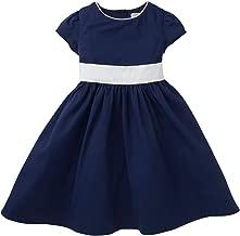 Hope & Henry Girls' Classic Tie Back Dress