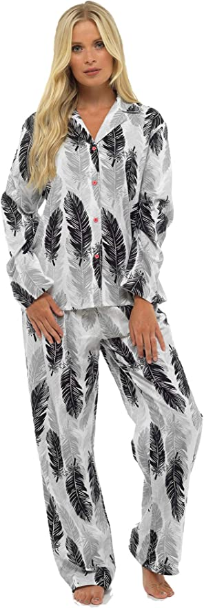 1090 opinioni per CityComfort Ladies Comfy Pigiama Donna Soft Fleece Lounge Wear | Ricamato con