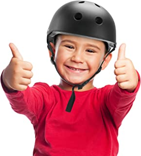 Kids Bike Helmet,Toddler Skateboard Helmet Adjustable Impact Resistance Ventilation Multi-Sport Helmet,Youth Sports Safety Protective Helme for BMX Bicycle Skate Scooter Bike Rollerblade Longboard