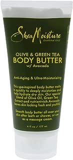 SheaMoisture 6 oz Olive & Green Tea Body Butter