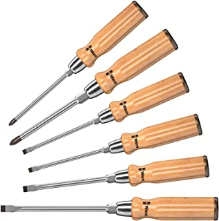 Wera 5018251001 930/935/6 Screwdriver 6 Pieces Set, Silver