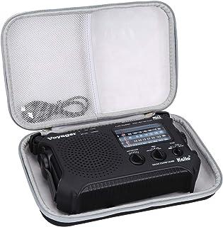 Aproca Hard Storage Travel Case for Kaito KA500 5-Way Powered Emergency Weather Alert Radio