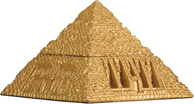 YTC Egyptian Pyramid Trinket Box - Collectible Figurine Statue Figure