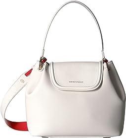 Emporio Armani Eco Leather Shoulder Bag