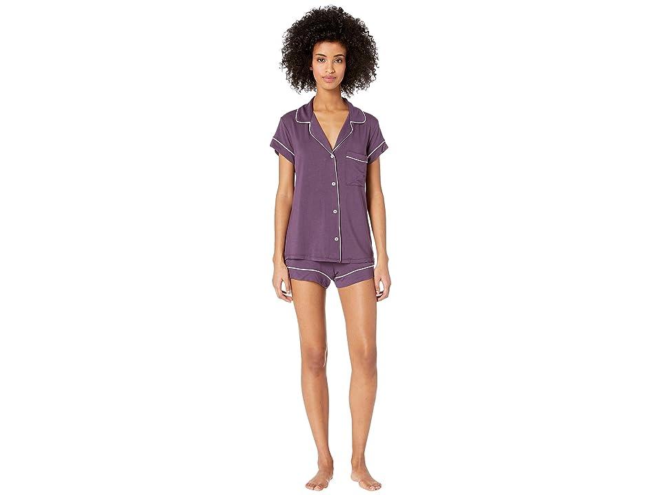 Eberjey Gisele Basics Short PJ Set (Mysterioso/Belini) Women