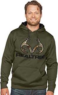 Realtree Edge Whitetail Pullover Fleece Hoodie with...