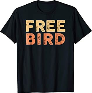 T-Shirt Free Bird by Ronnie Van Zant & A Collins