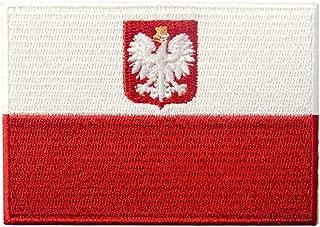 Poland Flag Embroidered Swallow Bird Emblem Polish Iron On Sew On Polska National Patch