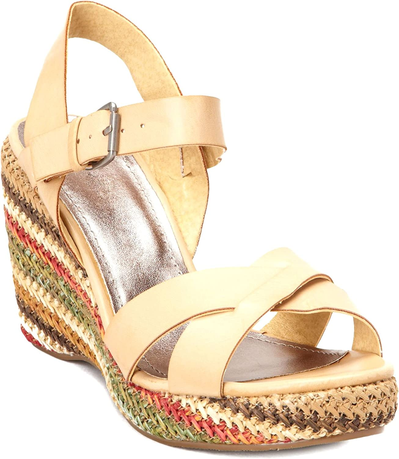 Matisse Coconuts Reale Wedge Sandal - Tan Women's shoes Size 8