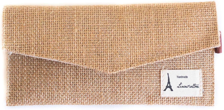 Gokoo Kawaii Hemp Cotton Handmade Wallet Coupon Holder Change Purse