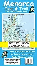 Menorca Tour and Trail Map Super-durable Version (Tour & Trail Maps)