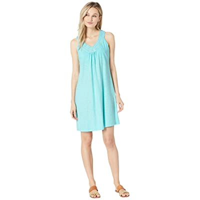 Tommy Bahama Arden Embroidered Sleeveless Sundress (Blue Swell) Women