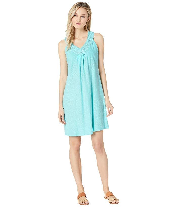 Tommy Bahama Arden Embroidered Sleeveless Sundress (Blue Swell) Women