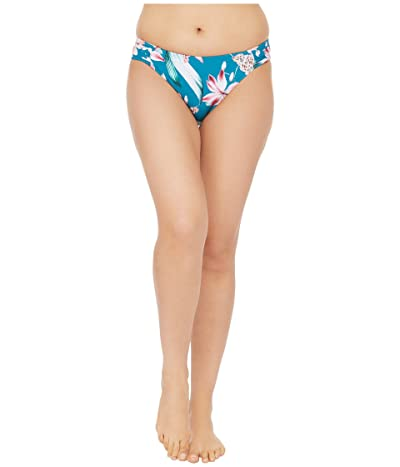La Blanca Flyaway Orchid Side Shirred Hipster Bikini Swimsuit Bottoms (Caribbean Current) Women