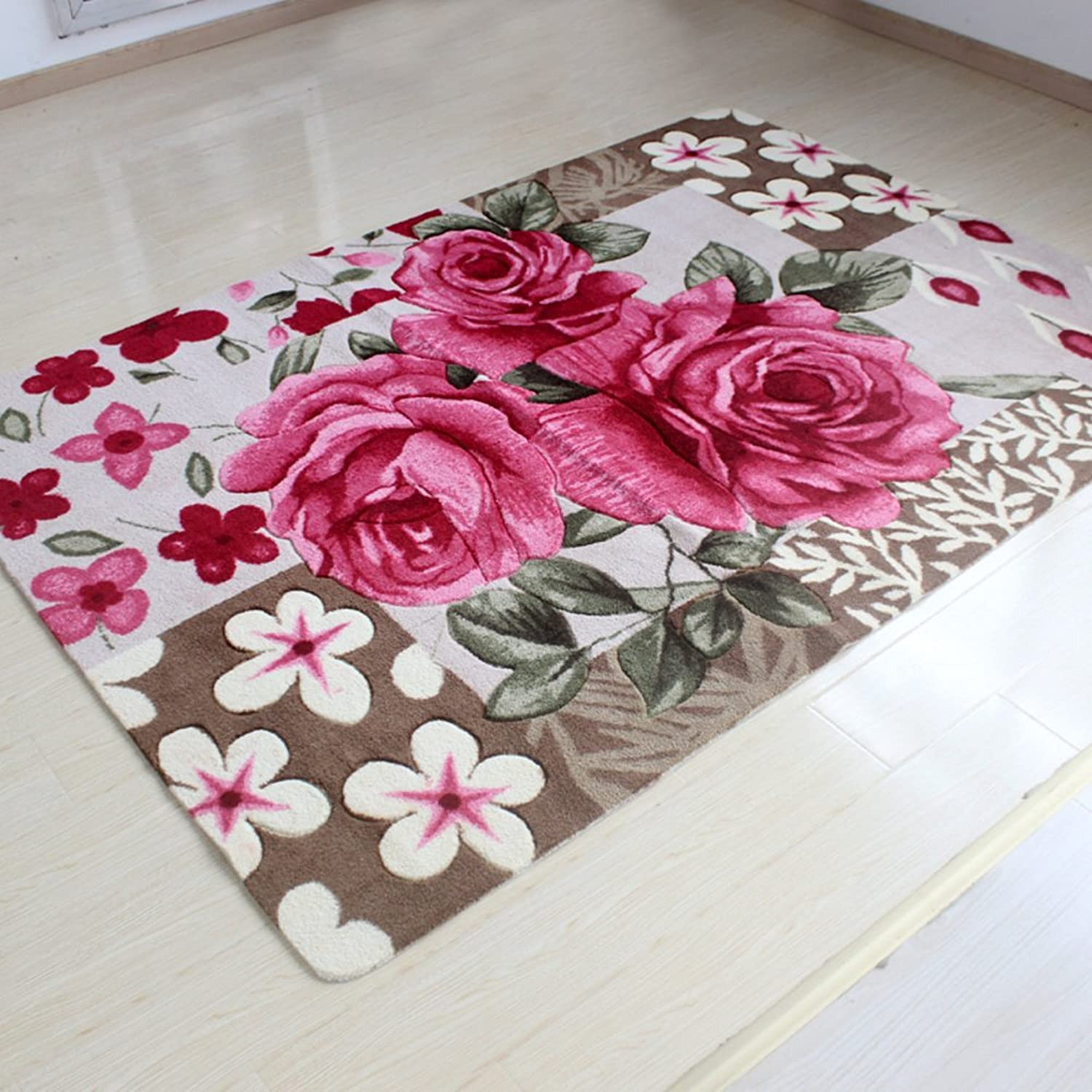 Rugs Bathroom Rugs Kitchen Rugs Small Rugs with Rubber backingsmall Rug pad-A 58x88cm(23x35inch)