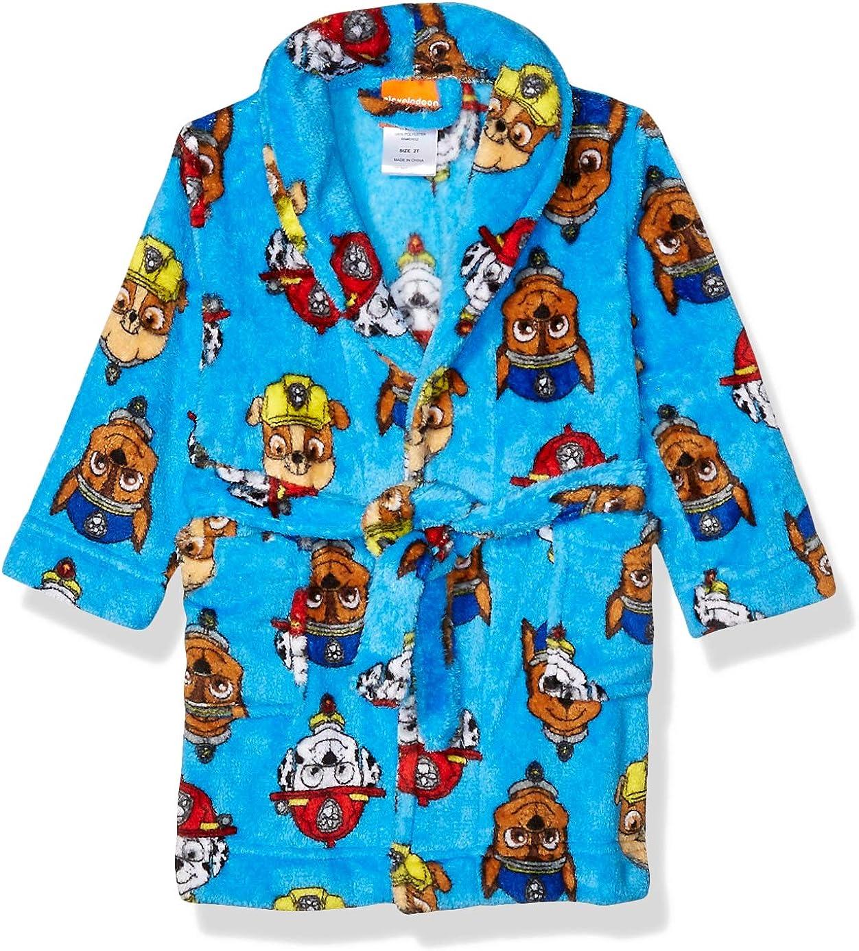 Nickelodeon boys Paw Patrol Luxe Plush Robe