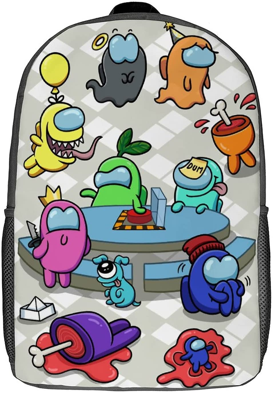A_mong us Backpack for Adult Teens Girls Student Boys and Book Tampa Mall Max 69% OFF b