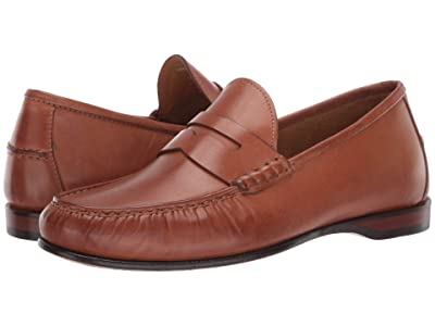 Cole Haan Hayes Penny Loafer (Saddle Tan) Men