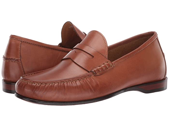 Mens Vintage Shoes, Boots | Retro Shoes & Boots Cole Haan Hayes Penny Loafer Saddle Tan Mens Shoes $90.00 AT vintagedancer.com